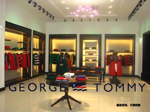 乔治·汤米店铺展示