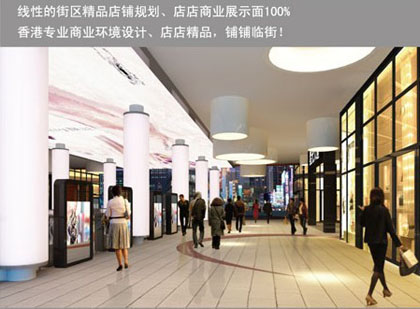 嘉业国际购物中心店铺展示