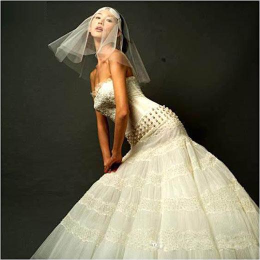 林志玲的婚纱写真图片 39394 520x520