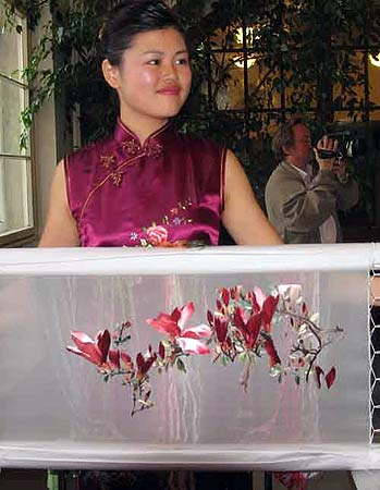中国刺绣参展柏林亚太周
