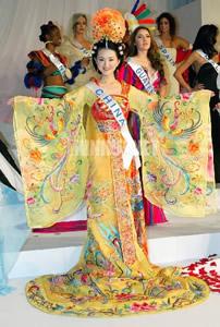 隋朝服饰-雍容富丽的隋唐五代服装    由于通西域图片