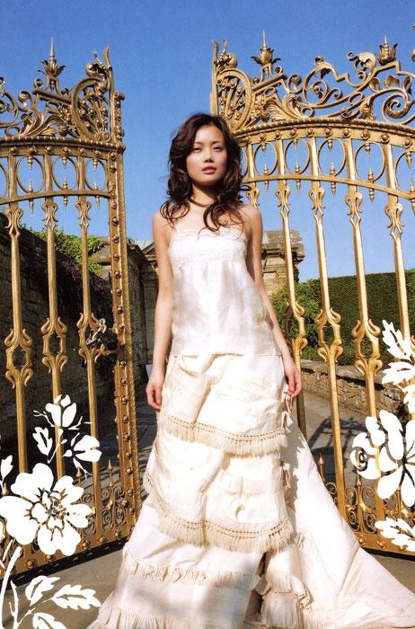 容祖儿婚纱图 - 水无痕 - 明星后花园