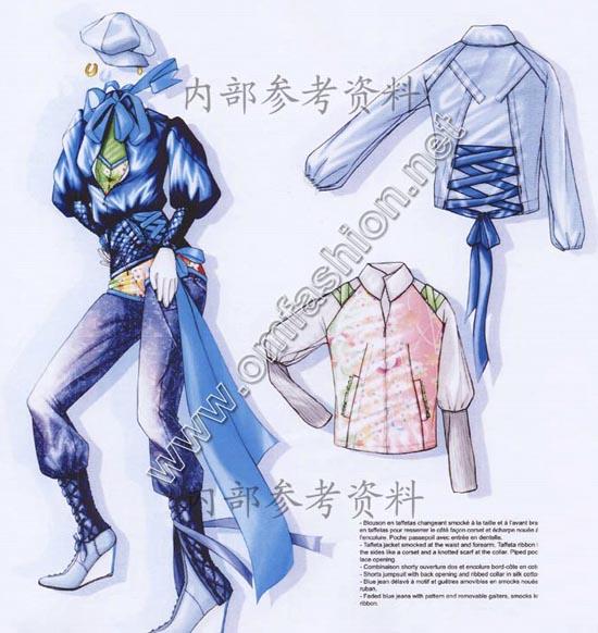 08青少年创意实用服装设计手稿