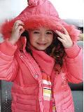 可爱女童外套