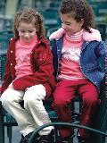 红色女童装