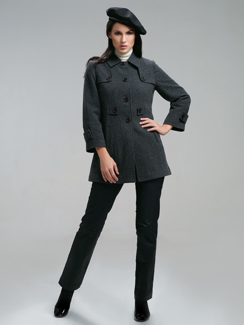 道明秋冬新款女式大衣外套