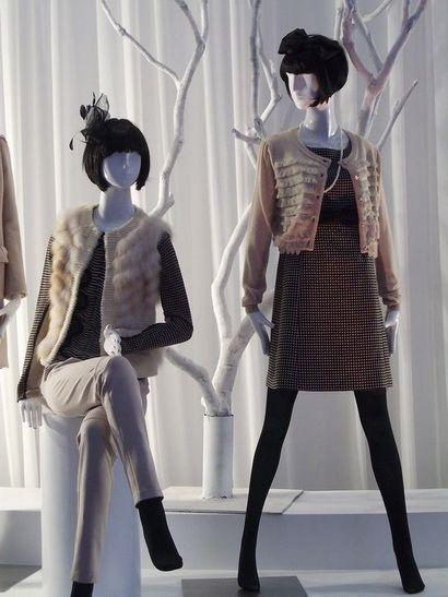 服装模特|橱窗展示服装模特道具|模特衣架