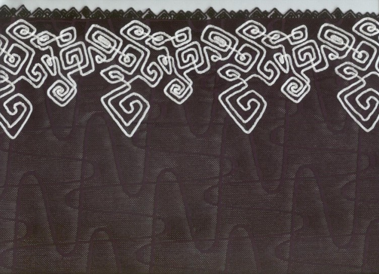 供应各式网布刺绣花边