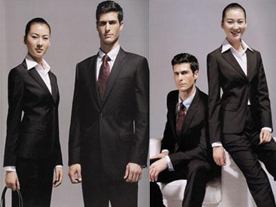 男女西装,衬衣,领带,职业装