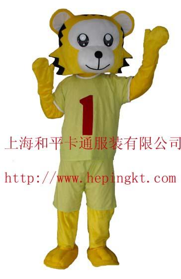 供应上海表演卡通服装/行走卡通人偶